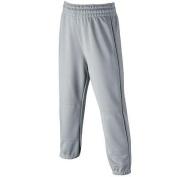Wilson Elastic Waist Baseball Pants, YOUTH, Grey, X-Large