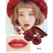 Lipstick Lip Gloss, Luversco Square Lasting Waterproof Rose Lip Soft Moisturising Lipstick Lip Gloss Makeup