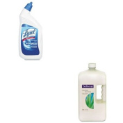 KITCPM01900CTRAC74278CT - Value Kit - Softsoap Moisturising Hand Soap w/Aloe (CPM01900CT) and Professional LYSOL Brand Disinfectant Toilet Bowl Cleaner