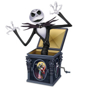 Disney Tim Burton's The Nightmare Before Christmas Jack Skellington Figurine by The Hamilton Collection