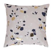 Living & Co Cushion Canvas Terrazzo 43cm x 43cm