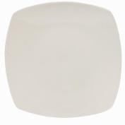 Living & Co Quadra Dinner Plate Square White