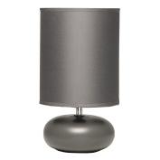 Necessities Brand Athena Ceramic Lamp 25cm Grey