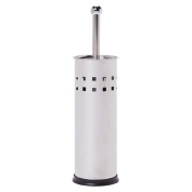 Living & Co Toilet Brush and Holder Stainless Steel