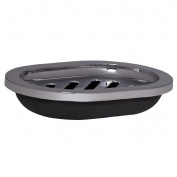 Necessities Brand Soap Dish Basics Black
