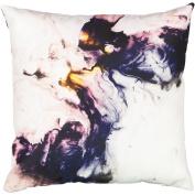 Living & Co Cushion Canvas Marble 43cm x 43cm