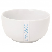 Living & Co Bowl Round Small 9cm White