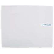 Living & Co Rectangular Platter White 30cm