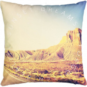 Living & Co Cushion Canvas Desert 43cm x 43cm