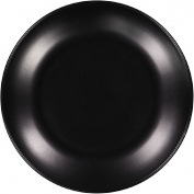 Living & Co Dinner Plate Matt Black 27cm