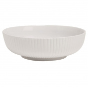 Living & Co Knitted Serve Bowl White 27cm