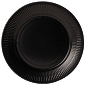 Living & Co Textured Side Plate Black