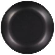 Living & Co Side Plate Matt Black 21cm