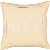 Living & Co Cushion Blush Cest la Vie 43cm x 43cm