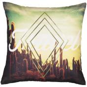 Living & Co Cushion Desert Travel Photoreal Print 43cm x 43cm
