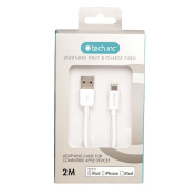 Tech.Inc Lightning Cable 2m White