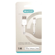 Tech.Inc Lightning Cable 1m White