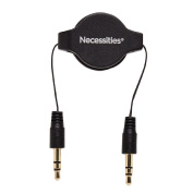 Necessities Brand Retractable Aux Cable 0.8m