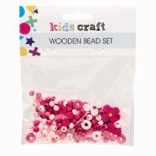Kids' Art & Craft Wooden Bead Set