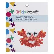 Kids' Art & Craft Make Your Own Mosaic Beads Crab