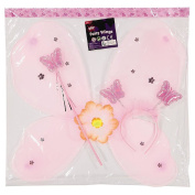 Play Studio Fairy Wings Magic Wand and Butterfly Headband Pack