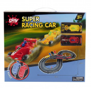 Play Studio Slot Car Starter Racing Set Battery Operated