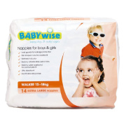 Babywise Nappies Walker Convenience 14 Pack