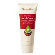 Necessities Brand Hand Cream Nourishing with Vitamin E 75g