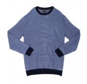 Club Room NEW Blue Navy Mens Size XLT Big & Tall Crewneck Wool Sweater