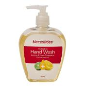 Necessities Brand Antibacterial Liquid Hand Wash Lemon and Lime 300ml