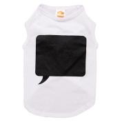 Simply Chalk It Up White Chalkborad T-Shirt Small Small