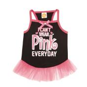 Simply Dog I Can't Wear Pink Everyday Tutu Dress Black Medium
