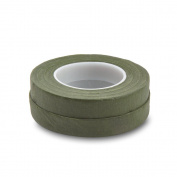Topenca Supplies Floral Tape Green, 1.3cm Wide x 30 Yards, 2 Pack, Ideal for Bouquet Stem Wrap Floral Arranging and Craft Projects