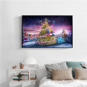 Junda 5D DIY Diamond Painting Rhinestone Pictures Embroidery Kits Arts, Crafts & Sewing Cross Stitch Home Christmas Decor 03
