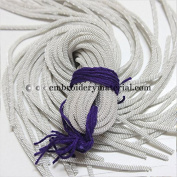 4mm French Metallic wire in Silver Colour