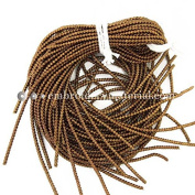 2MM(DM) 5 Yard/Packet, French Wire in Golden Brown Colour