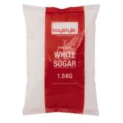 Baystyle Pure Cane White Sugar 1.5kg