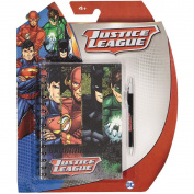 Justice League DC Comics Spiral Sketchbook with Pen A5