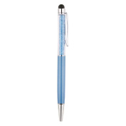 Blue Plated Crystal Pen
