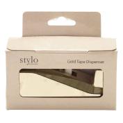 Stylo Cellotape Gold Dispenser with Tape