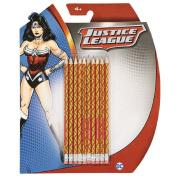 Wonder Woman DC Comics HB Pencil with Eraser Set 10 Pack