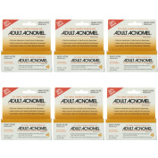 6 Pack Adult Acnomel Tinted Cream Acne Medication - 40ml (36 g) Each