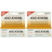 2 Pack Adult Acnomel Tinted Cream Acne Medication - 40ml (36 g) Each