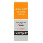 Neutrogena Visibly Clear Rapid Clear Treatment, 15ml + Curad Bandages 8 Ct.