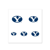 Byu Cougars Fingernail Tattoos - 4 Pack