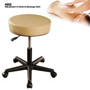 Luxor Elite Professional Oversized Portable Folding Massage Table with Bonuses, Charcoal Black