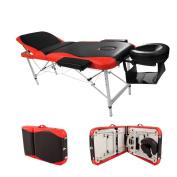 3 Fold Aluminium Alloy Beauty Salon Massage Table Facial SPA Bed Furniture