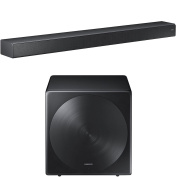 for Samsung HW-MS750 Sound+ Premium Soundbar with for Samsung SWA-W700 Wireless Sleek Unibody Design Subwoofer
