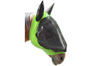 Derby Extra Comfort Lycra Grip Fly Mask with Ears Horse and Mini