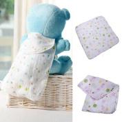 Double Layer Gauze Handkerchief Child Baby Cotton Towel